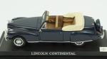 Lincoln Continental. Acondicionado em caixa de acrílico, medindo 12,5 cm.