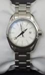 Relógio feminino Omega Seamaster Automático em aço , com calendário , a prova d'água. Acompanha elos de pulseira sobressalente , manual, garantia , cartão de compra 2013 e estojo.