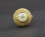 Relógio pingente RENO plaqueado a ouro.
