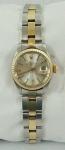 Relógio Rolex  Oyester Perpetual Date , feminino em aço e  ouro, ref. 6917 série 5794165.