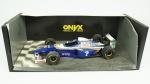 Onyx 1:18 Formula 1 Collectible Models, Williams Jacques Villeneuve, 1997. Grandes detalhes.