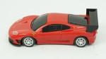 Ferrari 360GTC. Acondicionado em caixa de acrílico.