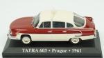 Tatra 603, Prague, 1961. Acondicionado em caixa de acrílico.