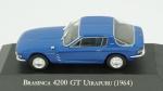Brasinca 4200 GT Uirapuru, 1964. Acondicionado em caixa de acrílico.
