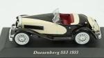 Duesenberg SSJ 1931. Acondicionado em caixa de acrílico.