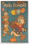 19 revistas Pato Donalds, anos 50 e 60, medindo 21x14 cm, edições nº 92, 95, 105, 105, 432, 434, 448, 450, 452, 453, 454, 456, 457, 459, 459, 461, 1028 e 1052.Preço de avaliação R$ 550,00