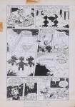 DANIEL AZULAY - Desenho original p/ Revista Turma do Lambe Lambe HQ, Editora Abril, nº 13 pág 6,nanquim,  bico de pena, medindo 21x32.5 cm. Preço de avaliação R$ 400,00