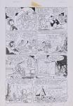 DANIEL AZULAY - Desenho original p/ Revista Turma do Lambe Lambe HQ, Editora Abril, nº18 pág 28,nanquim,  bico de pena, medindo 21x32.5 cm. Preço de avaliação R$ 400,00