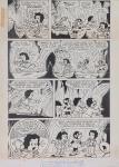 DANIEL AZULAY - Desenho original p/ Revista Turma do Lambe Lambe HQ, Editora Abril, nº 12 pág 24, nanquim,  bico de pena, medindo 21x32.5 cm. Preço de avaliação R$ 400,00