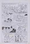 DANIEL AZULAY - Desenho original p/ Revista Turma do Lambe Lambe HQ, Editora Abril, nº 19 pág 31, nanquim,  bico de pena, medindo 21x32.5 cm. Preço de avaliação R$ 400,00
