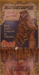 Clássico cartaz  anos 70 do CIRCO TIHANY em 3 peças, apresentando o espetáculo Fantástico 76 , medindo  58 x 100,8cm, 71 x 100,8cm, 72,5 x 100,7cm, montados em duratex. Preço de avaliação R$ 800,00