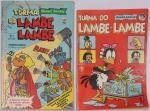 Lote c/ 2 Revistas Turma do Lambe Lambe - Editora Block/Abril n º 1 e nº 10. Preço de avaliação R$ 250,00