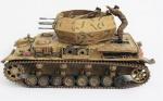 Miniatura - Tanque German Flakpanzer IV Wirbelwind (Normandy 1944), escala 1:32 Unimax, acompanha caixa em acrílico, medida 12 x 13 x 23 cm. Este lote ilustrou uma chamada de nosso leilão no jornal O Globo.https://www.ernanileiloeiro.com.br/convite_site.asp?Num=233