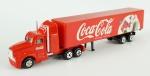 Caminhão - , Caminhão Coca-Cola American Truck, medida total  5 x 18 x 3 cm, acompanha caixa expositora de acrílico, medida 7,5 x 25,5 x 7,5 cm.