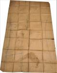 Documento Joaquim Tenreiro - Projeto da cadeira                       (No estado). Medidas 120 x 230 cm.