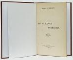 BELLIDO, Remijio de - Bibliographia Andradina - S. Paulo - Typographia Brasil, de Rothschild - 1916 - 23,5x15,5 - 87 pp. - no final anotações a tinta - Enc. em pleno vulcapel marrom com douração na lombada.