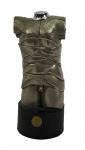 "MIGUEL BERROCAL ""Mini David"". Escultura articulada, 14 x 6 cm. Assinada e numerada 5011. Acompanha livro."