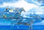 """SERGIO MARTINOLLI.  """" Vitória do Jockey"""", acrílico s/tela,  70 x 100 cm. Assinado cid. ( 00103)"""