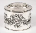 Caixa em prata contrastada med. 8x10 cm