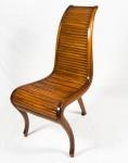 SERGIO RODRIGUES. Cadeira de três pés ( feito sob encomenda). Medidas