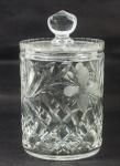Pote com tampa em vidro Arcoroc, med. 23 cm diâm
