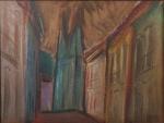 "CARLOS BRACHER - "" Abstrato"" OST, ass no CID, med 46x61 cm, c/ moldura 68x84 cm"
