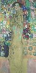 GUSTAV KLIMT. Reprodução com carimbo do artista, tiragem 48/200, 70 x 50 cm. Acompanha certificado. Sem moldura.