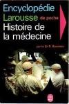 BOUISSOU, R. Histoire de la médecine. Paris: Larousse, c1967. 382 p.: il. p&b.; 17 x 11 cm. Aprox. 270 g. Assunto: Medicina. Idioma: Francês. Estado: Livro com capa e folhas envelhecidas com marcas do tempo. (CI: 20)