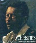 CHRISTIES: review of the season 1986. Edited by Mark Wrey. Oxford: Christies, c1986. 504 p.: il. col.; 25 x 24 cm. Aprox. 2.160 g. Assunto: Artes. Idioma: Inglês. Estado: Livro com contracapa e capa dura. (CI: 100)