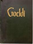 MACHADO, Anibal M. Goeldi. Rio de Janeiro: MEC, 1955. 100 p.: il. col., p&b.; 36 cm x 28cm. Aprox. 1.400 g. Assunto: Artes. Idioma:  português, francês e inglês. Estado: Livro com capa dura. (CI: 100).