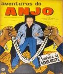 AVENTURAS DO ANJO. Rio de Janeiro: RGE, n. 2, jun. 1959. 52 p.: il. p&b.; 18 cm x 30 cm. Aprox. 130 g. Capa colorida. Idioma: Português. Estado: Revista em quadrinhos com capa e folhas envelhecidas com manchas amareladas. Gênero: Policial e Status: Título encerrado.