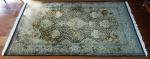 Tapete Persa Ghum medindo 290x148cm (4,29m2).