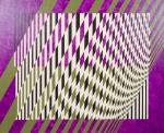 PEDROSA, Israel. Formas virtuais. 1981. O.S.T., 73 x 60 cm (sm) e 83 x 96 cm (c/m). Assinado, datado e intitulado no verso. Curiosidade: o artista assinou em duas posições, podendo assim, a obra ser pendurada de 2 formas (vertical e horizontal).