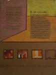 """""""Os limites da minha limitação são limitados"""", guache sobre papel, medindo 30 x 23 cm sem moldura. Datado no c.i.d, 9/6/98. Apresenta marcas do tempo."""