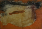 AMELIA ZALUAR. Técnica mista medindo 21 x 30 cm sem moldura. Assinado e datado no c.i.d., 97. Apresenta rasgo do lado esquerdo.