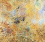 """MYRIAM GLATT. """"Sem título"""", acrílico s/ tela, 170 x 35 cm. Assinado e datado 2010 no verso. Sem moldura."""