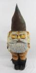 Autor não identificado - Escultura em papel marche, representando Guimono, (marcas do tempo). Altura 1,30 cm.