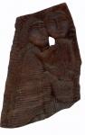 LOUCO  (Boa Ventura Silva Filho) - Talha com duas figuras. Ass. Louco B.S.F. Alt. 50 x36 x8 cm.