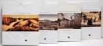 (LOTE CONTÉM 4 VOLUMES). COLEÇÃO visões do Brasil. Rio de Janeiro: Capivara, 2001. Il. p&b.; 30 cm x 28 cm. Aprox. 8 kg. Assunto: Fotografia - Rio de Janeiro.  Idioma: Português. Estado: Livros com contracapa envelhecida com manchas amareladas e capa dura. (CI: 600)