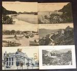 (LOTE CONTÉM 13 ITENS). CARTÕES postais do Rio de Janeiro. Il. p&b.; 9 x 14 cm. Aprox. 38 g. Estado: Cartões com marcas do tempo.