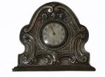 Antigo relógio da marca ORIS em jacarandá , folheado com prata decorado com flores e volutas . No estado (não testado- falta trava campainha). Medidas 15 x 15 cm.RETIRADA POR CONTA DO COMPRADOR BAIRRO COPACABANA