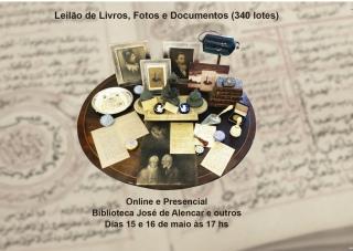 Grande Leilão Biblioteca José de Alencar