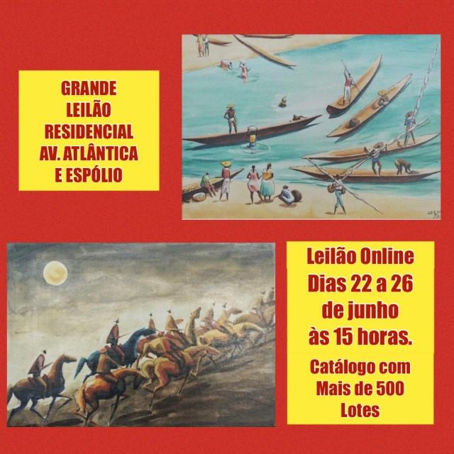 GRANDE LEILÃO RESIDENCIAL AV. ATLÂNTICA E ESPÓLIO