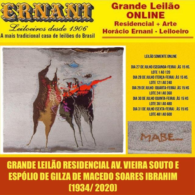 LEILÃO RESIDENCIAL AVENIDA VIEIRA SOUTO E ACERVO