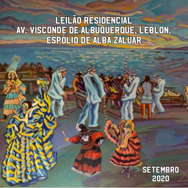 LEILÃO RESIDENCIAL  AV. VISCONDE DE ALBUQUERQUE-LEBLON -ESPÓLIO ALBA ZALUAR