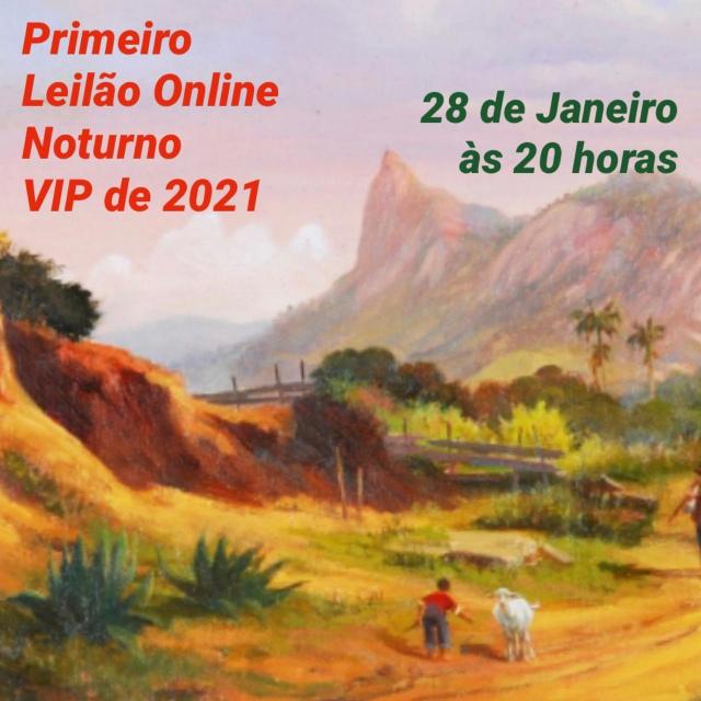 Primeiro Leilão Online VIP de 2021