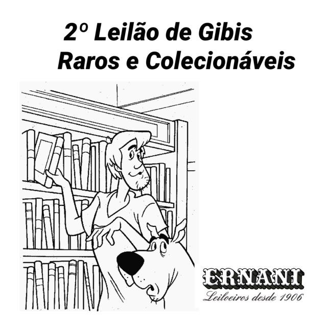 2º Leilão de Histórias em Quadrinhos