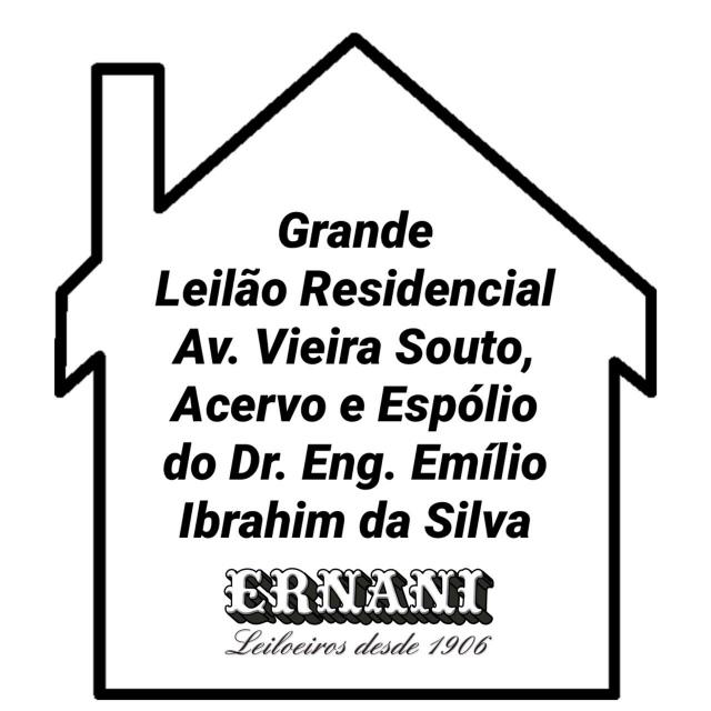 GRANDE LEILÃO RESIDENCIAL  - Espólio do Dr. Eng. Emílio Ibrahim da Silva